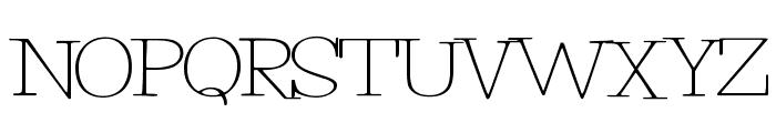 PetuniaBounce Font UPPERCASE