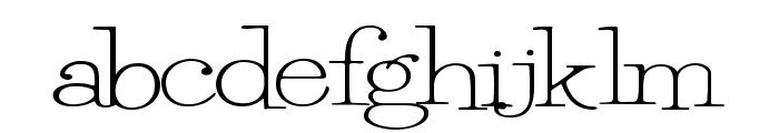 PetuniaBounce Font LOWERCASE