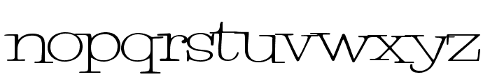 PetuniaBounce Font LOWERCASE