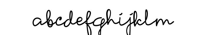 Petunia Font LOWERCASE