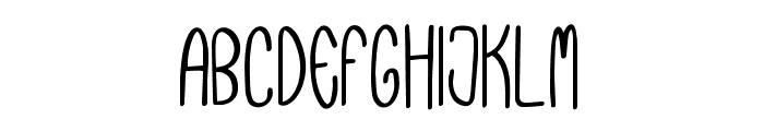 Pevitta Typeface Demo Font UPPERCASE