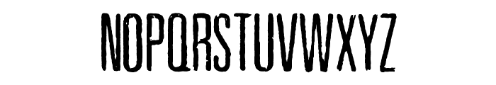 Pewter Font UPPERCASE