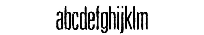Pewter Font LOWERCASE