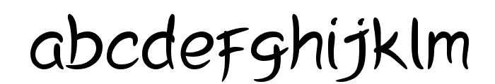 Peyori Font LOWERCASE