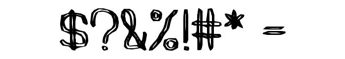 peels Font OTHER CHARS