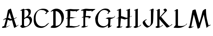 pehuensito Font UPPERCASE
