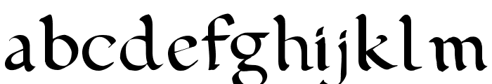 pehuensito Font LOWERCASE