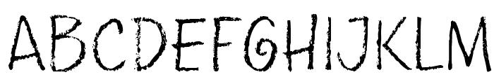 pencilPete FONT Font UPPERCASE