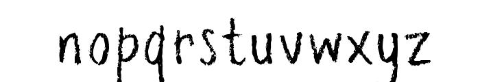 pencilPete FONT Font LOWERCASE