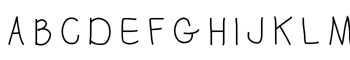 penis Font UPPERCASE