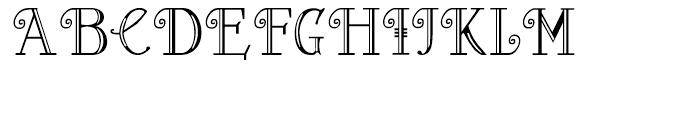 Peloponeso Regular 2 Font UPPERCASE