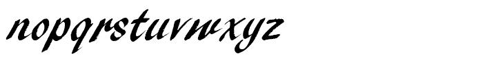 Pendry Script Standard D Font LOWERCASE