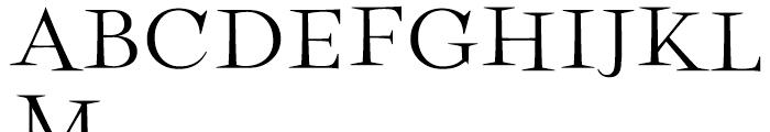 Perfect Magic Bold Font UPPERCASE