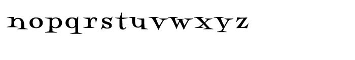 Perfect Magic Bold Font LOWERCASE