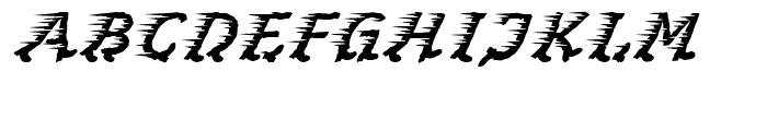 Perpedix Regular Font UPPERCASE