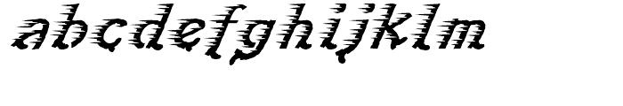 Perpedix Regular Font LOWERCASE