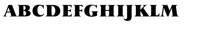 Perpetua Hellenic Black Font UPPERCASE