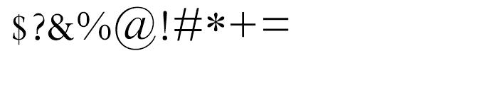 Perpetua Hellenic Regular Font OTHER CHARS