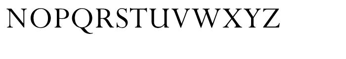 Perpetua Hellenic Regular Font UPPERCASE