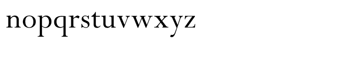 Perpetua Hellenic Regular Font LOWERCASE