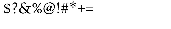 Pescadero Regular Font OTHER CHARS