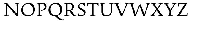 Pescadero Regular Font UPPERCASE