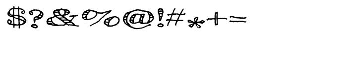 Pesto Regular Font OTHER CHARS