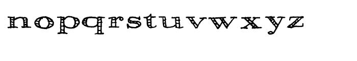 Pesto Regular Font LOWERCASE