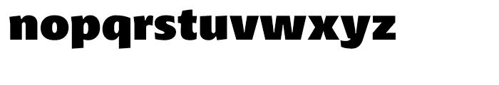 Petala Pro Black Font LOWERCASE