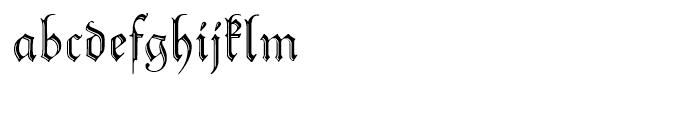 Peter Schlemihl Regular Font LOWERCASE
