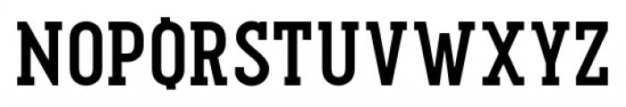 Pekora Bold Slab Serif Font UPPERCASE