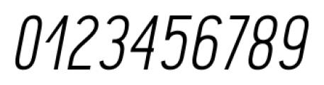 Pekora Light Italic Font OTHER CHARS