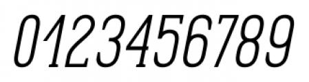 Pekora Light Serif Italic Font OTHER CHARS