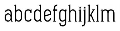 Pekora Light Serif Font LOWERCASE