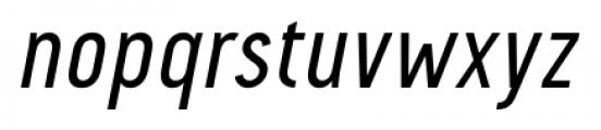 Pekora Regular Italic Font LOWERCASE