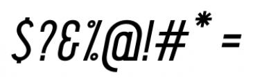 Pekora Regular Slab Serif Italic Font OTHER CHARS
