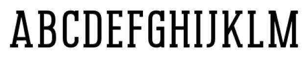 Pekora Regular Slab Serif Font UPPERCASE