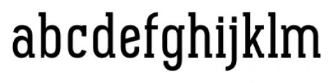 Pekora Regular Slab Serif Font LOWERCASE