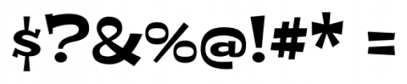 Peralta Pro Regular Font OTHER CHARS