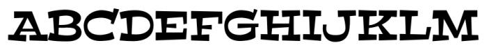 Peralta Pro Regular Font UPPERCASE