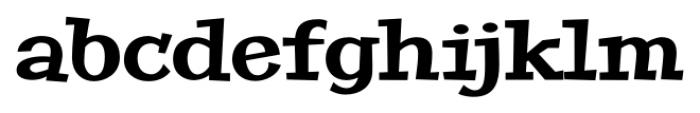 Peralta Pro Regular Font LOWERCASE