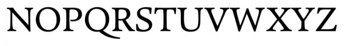 Pesaro Regular Font UPPERCASE