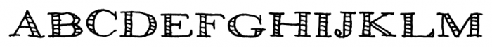 Pesto Regular Font UPPERCASE