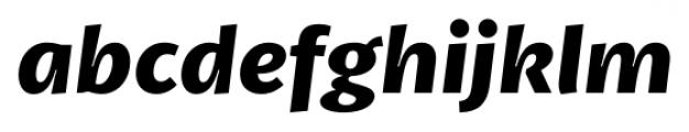 Petala Pro Bold Italic Font LOWERCASE