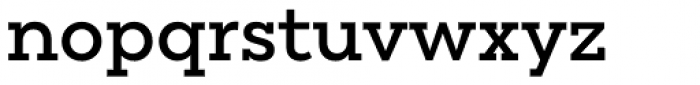 Peckham Semi Bold Font LOWERCASE