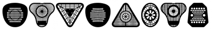 Peepod Font LOWERCASE