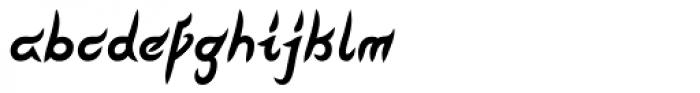 Pegathlon Bold Narrow Font LOWERCASE