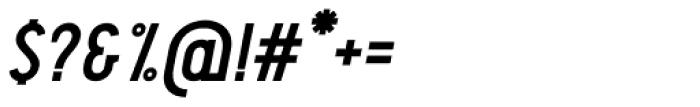 Pekora Bold Serif Italic Font OTHER CHARS