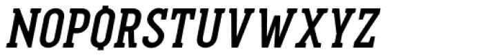 Pekora Bold Serif Italic Font UPPERCASE