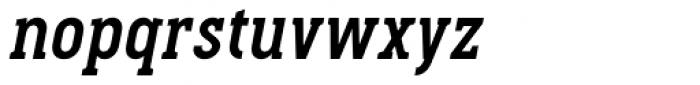Pekora Bold Serif Italic Font LOWERCASE